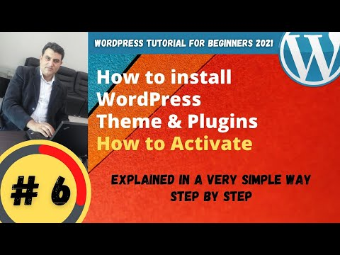 How to install WordPress Theme Step by Step | Wordpress Tutorial for Beginners