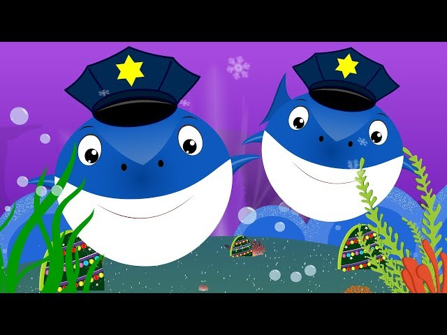 Police Shark vs Scary Flying Shark | Videos for kids Songs