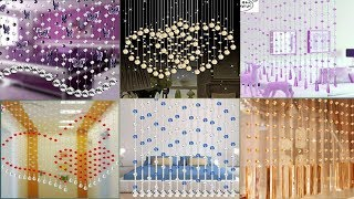 Stylish And Affordable Curtains || Latest Beads Curtains Design