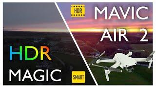 The Magic of the DJI Mavic Air 2's HDR Sensor - Half Chrome Drones