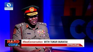 Hard Copy: Nigerian Army Chief Denies Allegation Of Deploying Child Soldiers