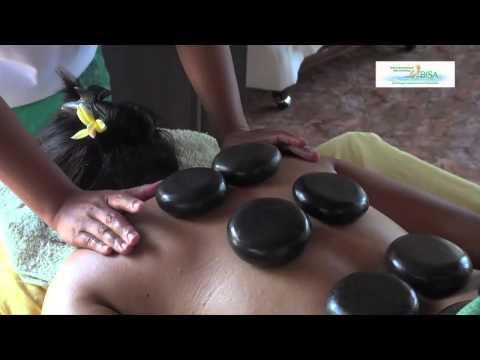 Warm Stone Massage Training at Bali BISA Spa Therapy School ...