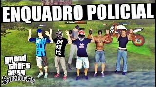 Policial me ENQUADROU!! (Empinando na frente da Policia) - GTA San Andreas