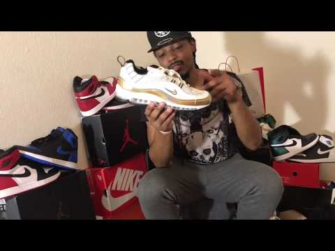 check out 3cc44 de89b Nike Air Max 98 UK unboxing first reaction - Jezzy Christ aka thrilla