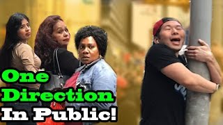 ONE DIRECTION - SINGING IN PUBLIC!!