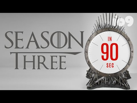 Everything You Need To Remember From Game Of Thrones' Third Season In 90 Seconds