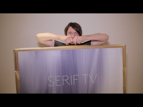 Serif TV Samsung Unboxing