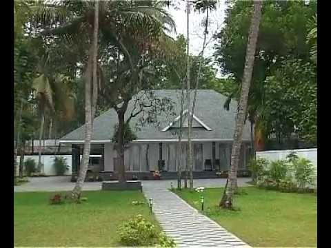 low cost constructed home. Beautiful Villa In Kairali Vastu