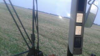 Уборка ОЧЕНЬ ГРЯЗНОЙ пшеницы