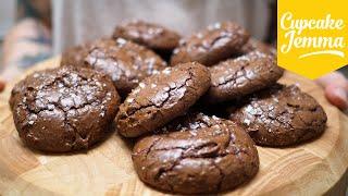 Salted Chocolate Brownie Cookies Untuk Dicoba Akhir Pekan Ini