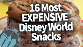 The Most Expensive Disney World Snacks