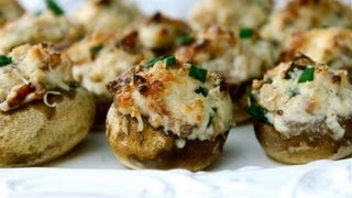 Appetizer Recipe: Stuffed Mushrooms By Everyday Gourmet With Blakely