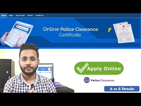 Download How To Get Police Clearance Certificate In India Online