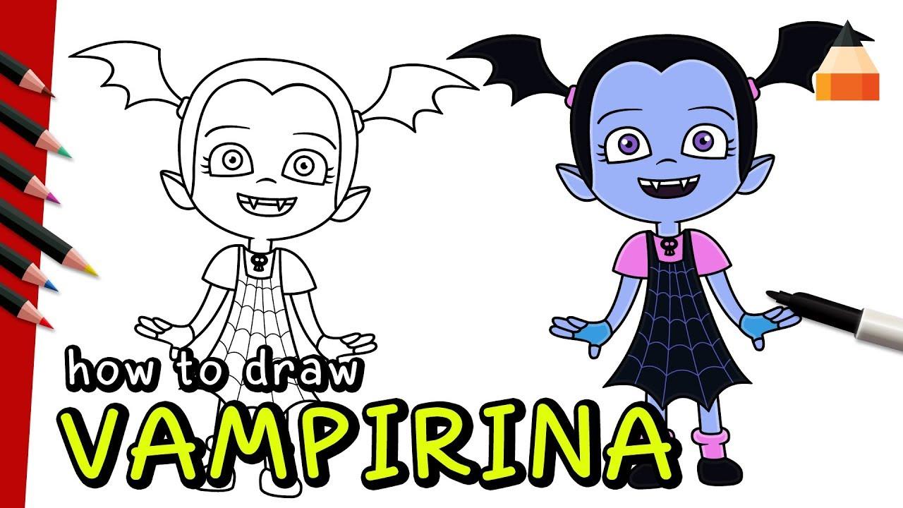 Watch How To Draw Vampirina
