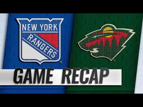 Donato scores twice to lead Wild past Rangers e1134d825
