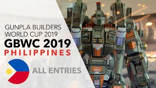 GBWC 2019 Philippines - All Entries Gunpla Builders World Cup PH