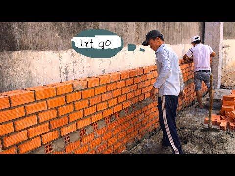 kỹ thuật xây tường mới nhất - quá hay các bác ạ