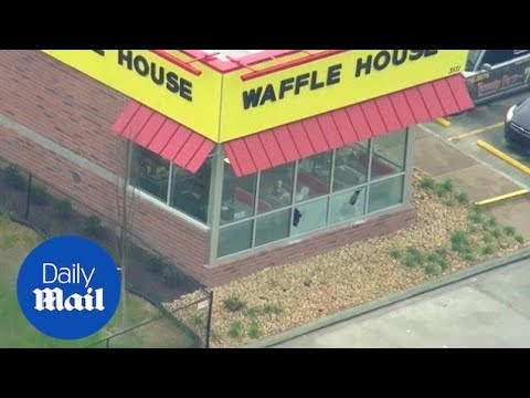 Intense manhunt continues for Nashville Waffle House shooter - Daily Mail