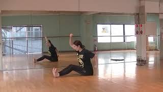 香音先生のダンス講座~怪我をしない体作り~床のストレッチのサムネイル画像