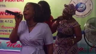 Manifestation Choir Performs Yehowa Ne Mabankese
