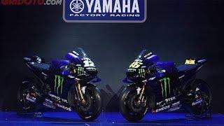 Resmi, Tampilan Baru YZR-M1 Monster Energy Yamaha MotoGP 2019