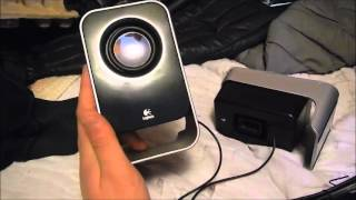 LogiTech LS21 Unboxing + Testing + Review ( speakers )