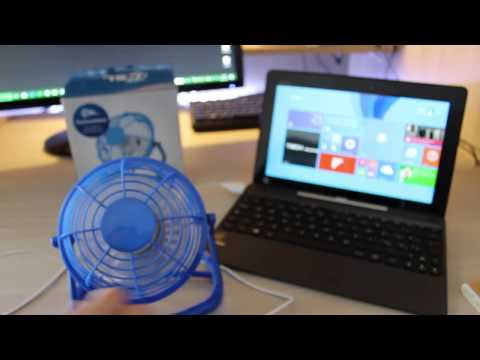 Recensione Ventilatore  USB /CLS/  per pc,notebook e tablet