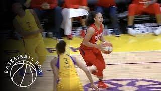 [WNBA] Washington Mystics vs Los Angeles Sparks, Full Game Highlights, July 7, 2018