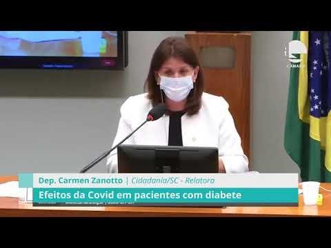 CEXT discute efeitos da Covid em pacientes com Diabete - 01/09/20