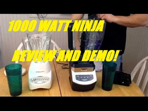 , Ninja NJ600 Blender 1000 Watts