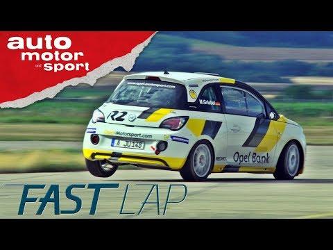 Opel Adam R2: Wie eine Kanonenkugel - Fast Lap | auto motor und sport
