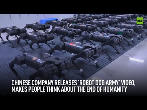 Chinese company releases 'robot dog army' video, makes people think about the end of humanity