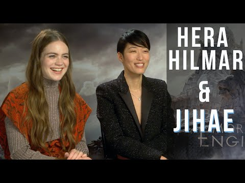 Jihae and Hera Hilmar Interview for Mortal Engines - The New movie from Peter Jackson