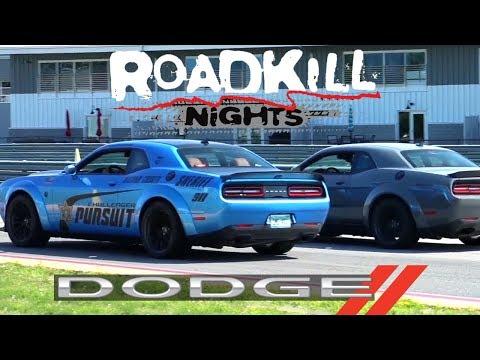 Dodge's Roadkill Nights 2019 | Drag Races! Drifting! Thrill Rides!