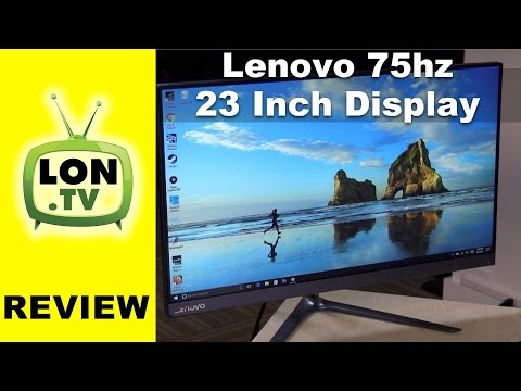 Lenovo 1080p 75Hz IPS 23-Inch Monitor Review - Less than $200! 65C8KCC1US