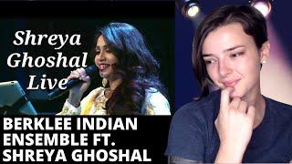 Berklee Indian Ensemble ft Shreya Ghoshal - Aap Ki Nazron Ne Samjha | REACTION! | Indi Rossi