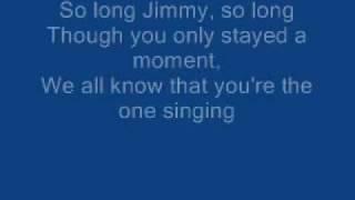 James Blunt - So Long Jimmy lyrics