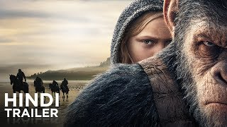 War for the Planet of the Apes   Official Hindi Trailer   Fox Star India   July 14