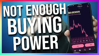 Robinhood Crypto - NOT enough buying power (Explained)