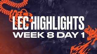 LEC : le Full Day Highlights Summer Split - semaine 8