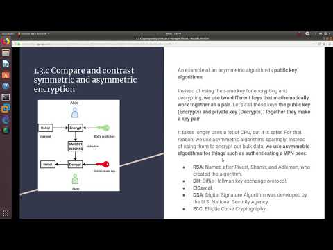 CCNA Security IINS Exam Topics | 1.3 Cryptography concepts Day 3 ...