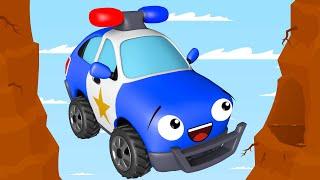 Voiture de Police - Dessin animé pour les enfants - Voitures pour bébés
