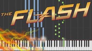 The Flash - Main Theme | Piano Tutorial + Sheets