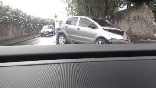 Acidente em Osasco com VW Fox...
