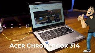 Die günstige Windows Alternative - Acer Chromebook 314 LapTop CB314-1H-C7SJ // Deutsch