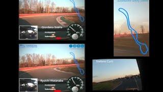 preview picture of video 'NOC-PILLS - GIRO DI PISTA - Corso Guida Sicura NOC ASC-Quattroruote'