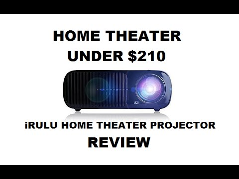 iRULU Home Theater Projector with Android REVIEW – Home Cinema Projector Under $210