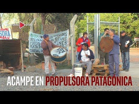 Acampe en Propulsora Patagónica
