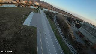 FPV Training Session 002 - Open Field (With Crash)