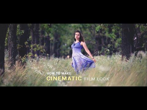 How to create CINEMATIC COLOR LOOK in Adobe Premiere Pro - смотреть